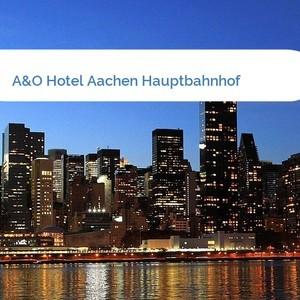 Bild A&O Hotel Aachen Hauptbahnhof mittel