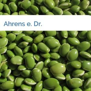 Bild Ahrens e. Dr. mittel