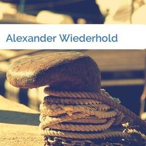 Bild Alexander Wiederhold mittel