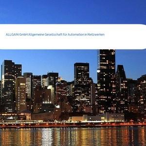Bild ALLGAIN GmbH Allgemeine Gesellschaft für Automation in Netzwerken mittel
