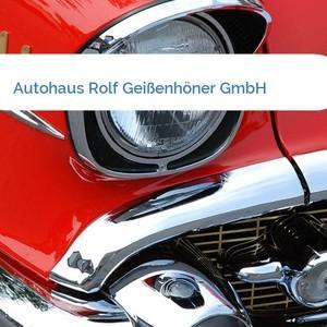 Bild Autohaus Rolf Geißenhöner GmbH mittel