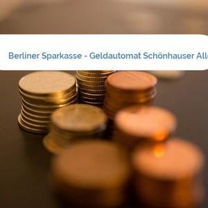 Bild Berliner Sparkasse - Geldautomat Schönhauser Allee mittel