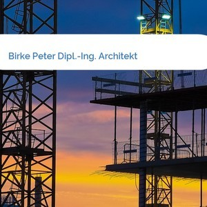 Bild Birke Peter Dipl.-Ing. Architekt mittel