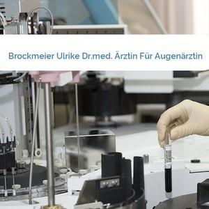 Bild Brockmeier Ulrike Dr.med. Ärztin Für Augenärztin mittel