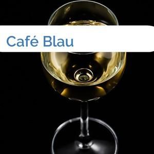 Bild Café Blau mittel