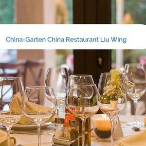 Bild China-Garten China Restaurant Liu Wing mittel
