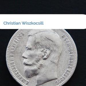 Bild Christian Wiszkocsill mittel