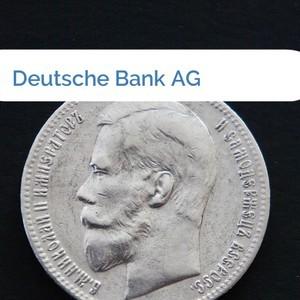 Bild Deutsche Bank AG mittel