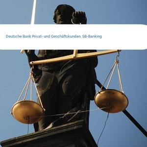 Bild Deutsche Bank Privat- und Geschäftskunden, SB-Banking mittel