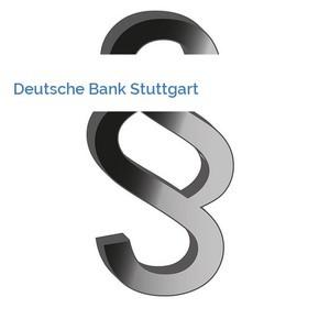 Bild Deutsche Bank Stuttgart mittel