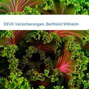 Bild DEVK Versicherungen, Berthold Wilhelm mittel