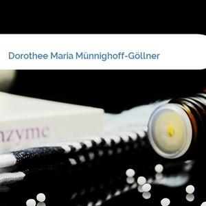 Bild Dorothee Maria Münnighoff-Göllner mittel
