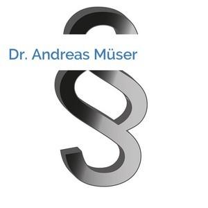 Bild Dr. Andreas Müser mittel