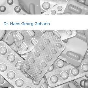 Bild Dr. Hans Georg Gehann mittel