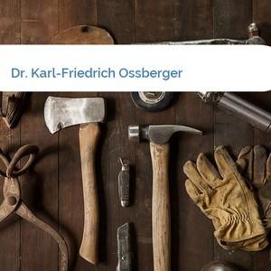 Bild Dr. Karl-Friedrich Ossberger mittel