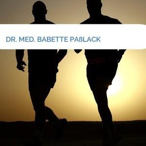 Bild DR. MED. BABETTE PAßLACK mittel