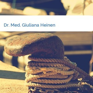 Bild Dr. Med. Giuliana Heinen mittel