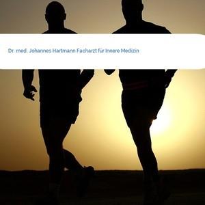 Bild Dr. med. Johannes Hartmann Facharzt für Innere Medizin mittel