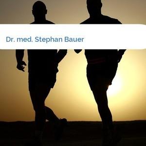 Bild Dr. med. Stephan Bauer mittel