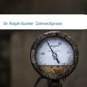 Bild Dr. Ralph Sucker   Zahnarztpraxis mittel