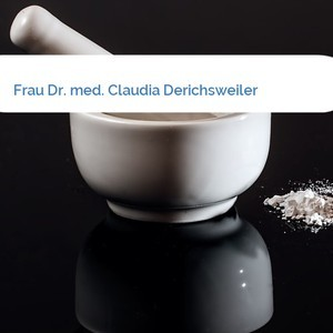 Bild Frau Dr. med. Claudia Derichsweiler mittel