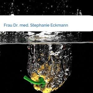 Bild Frau Dr. med. Stephanie Eckmann mittel