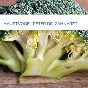 Bild HAUPTVOGEL PETER DR. ZAHNARZT mittel