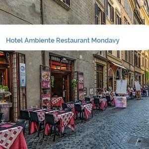 Bild Hotel Ambiente Restaurant Mondavy mittel