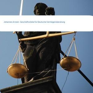 Bild Johannes Arnold - Geschäftsstelle für Deutsche Vermögensberatung mittel