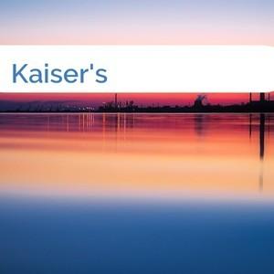 Bild Kaiser's mittel