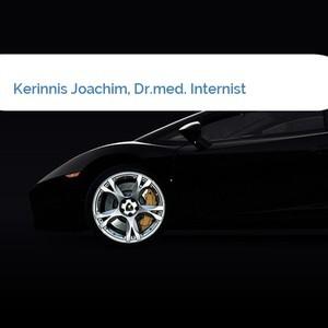 Bild Kerinnis Joachim, Dr.med. Internist mittel
