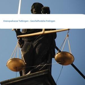Bild Kreissparkasse Tuttlingen - Geschäftsstelle Fridingen mittel