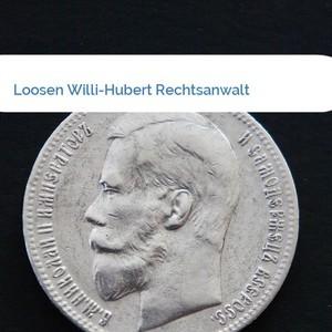 Bild Loosen Willi-Hubert Rechtsanwalt mittel