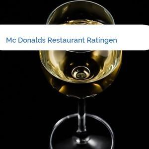 Bild Mc Donalds Restaurant Ratingen mittel