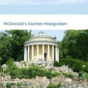 Bild McDonald's Aachen Holzgraben mittel