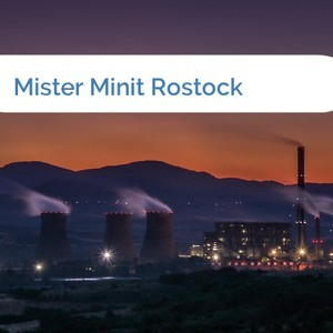 Bild Mister Minit Rostock mittel