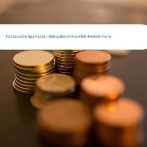 Bild Nassauische Sparkasse - Geldautomat Frankfurt-Heddernheim mittel