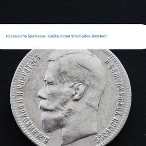 Bild Nassauische Sparkasse - Geldautomat Wiesbaden-Bierstadt mittel