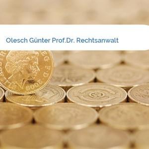 Bild Olesch Günter Prof.Dr. Rechtsanwalt mittel