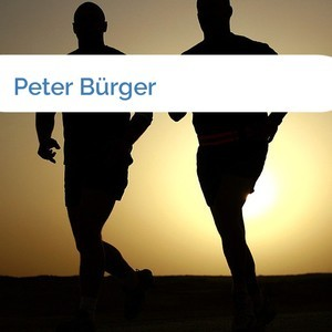 Bild Peter Bürger mittel