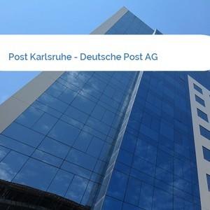 Bild Post Karlsruhe - Deutsche Post AG mittel