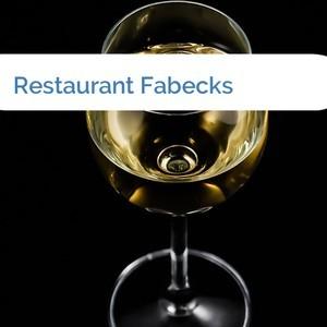 Bild Restaurant Fabecks mittel