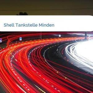 Bild Shell Tankstelle Minden mittel