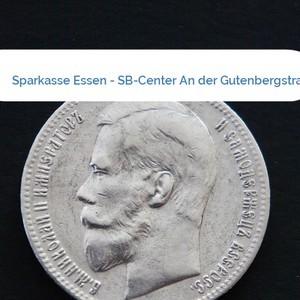 Bild Sparkasse Essen - SB-Center An der Gutenbergstraße mittel