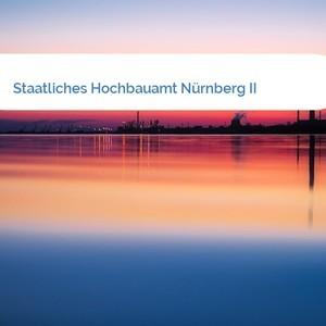 Bild Staatliches Hochbauamt Nürnberg II mittel