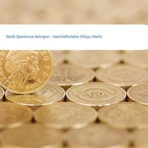 Bild Stadt-Sparkasse Solingen - Geschäftsstelle Ohligs-Markt mittel