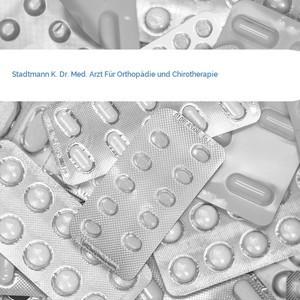 Bild Stadtmann K. Dr. Med. Arzt Für Orthopädie und Chirotherapie mittel