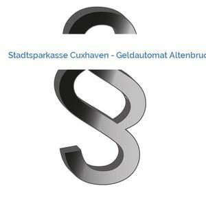 Bild Stadtsparkasse Cuxhaven - Geldautomat Altenbruch mittel