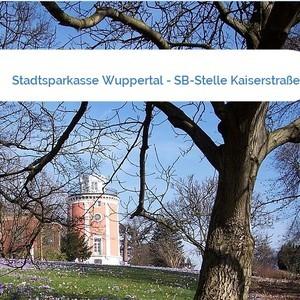 Bild Stadtsparkasse Wuppertal - SB-Stelle Kaiserstraße mittel