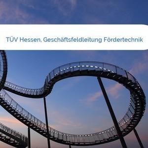 Bild TÜV Hessen, Geschäftsfeldleitung Fördertechnik mittel